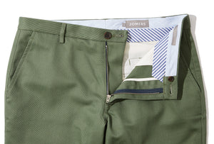 Knapp (Slim) - Olive Double Cloth Chino