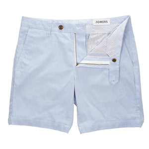 Bucklin - Light Blue Pincord Shorts