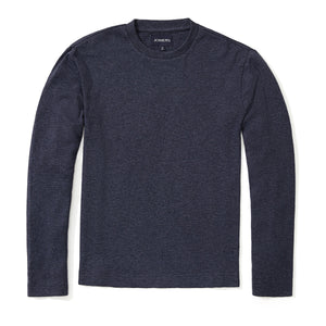 Orson - Heather Blue Corded Long Sleeve Tee