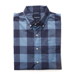 Washed Button Down Shirt - Nottingham Check