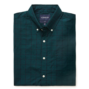 Washed Button Down Shirt - Midwood Check