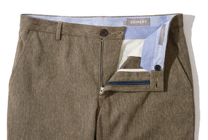 Marlo (Slim) - Brown Japanese Melange Chino