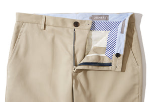 Monty (Slim) - Galey & Lord Khaki Twill Chino