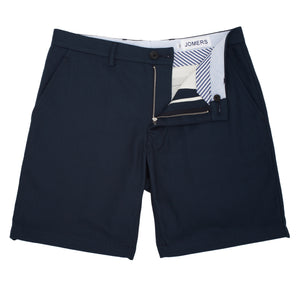 Longwood - Navy Herringbone Shorts