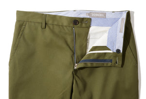 Olmstead (Slim) - Olive Japanese Twill Chino