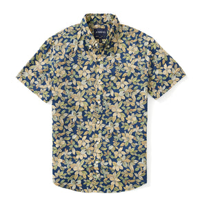 Italian Short Sleeve Shirt - Atlantic Floral