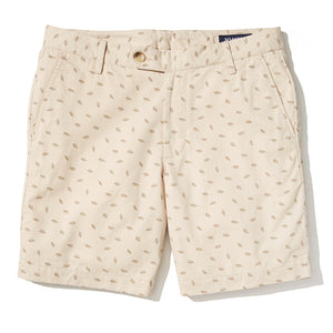 Dupont - Khaki Floating Leaf Shorts