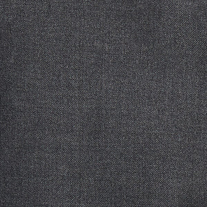Slim Italian Wool Suit- Dark Gray