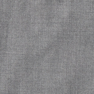 Slim Italian Wool Suit - Light Gray