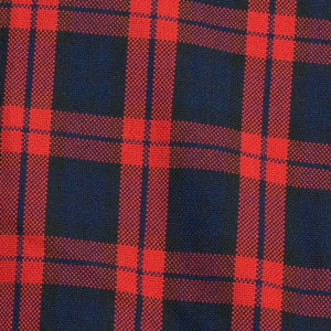 Rochester (Slim) - Red Tartan Oxford Button Down