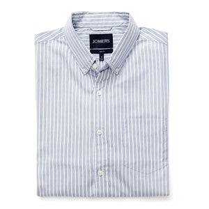 Washed Button Down Shirt - Kingsbridge Stripe