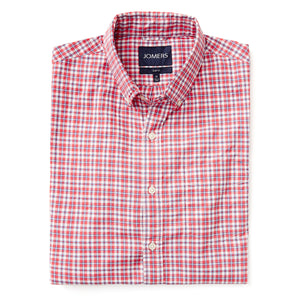 Washed Button Down Shirt - Gramercy Check