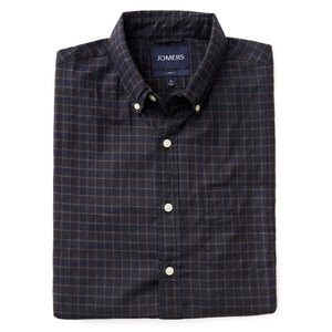 Washed Button Down Shirt - Winfred Check