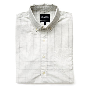 Washed Button Down Shirt - Baldwin Plaid