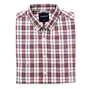 Washed Button Down Shirt - Thurton Plaid