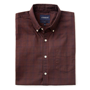 Washed Button Down Shirt - Pemberton Check