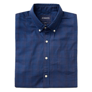 Washed Button Down Shirt - Hudson Check