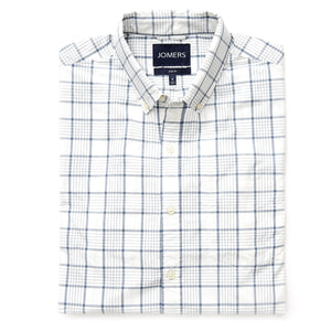 Washed Button Down Shirt - Furman Check