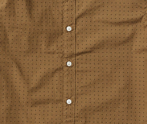 Stephen  - Camel Print Short Sleeve Shirt