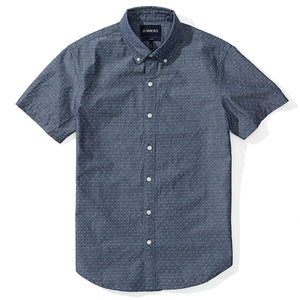 Joseph  - Japanese Dobby Chambray Short Sleeve Shirt