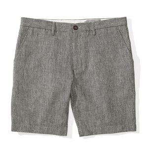 Wexford - Houndstooth Linen Cotton Shorts