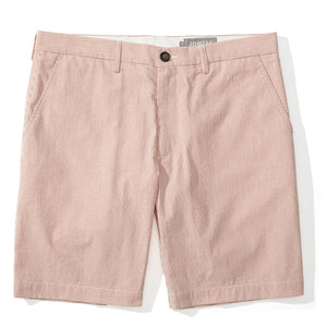 Midwoods - Red Seersucker Shorts