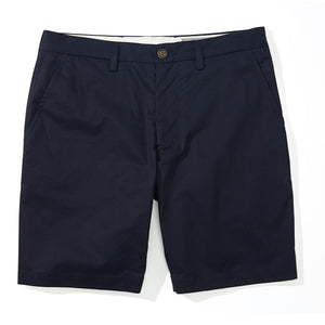 Parris - Navy Super Fine Twill Shorts