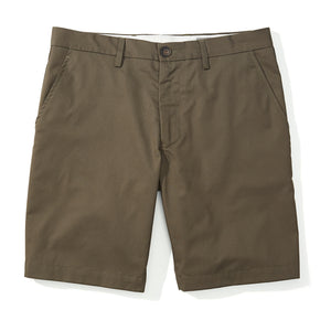 Beaufort - Olive Super Fine Twill Shorts