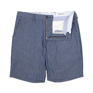Clayton - Polka Dot Chambray Shorts