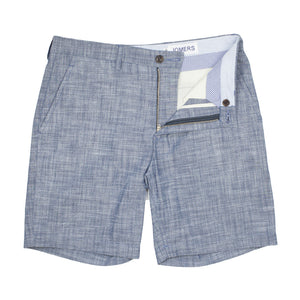 Kennedy - Japanese Crosshatch Chambray Shorts