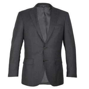 Grey Vitale Barberis Canonico Men's Half Canvas Suit