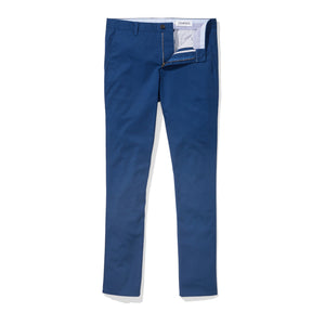 Cortland (Slim) - Estate Blue Supima Stretch Twill Chinos