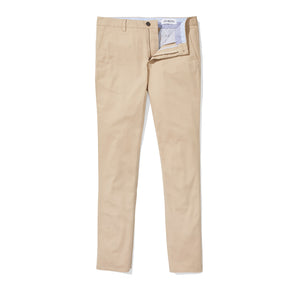 Hayward (Slim) - Khaki Supima Stretch Twill Chinos