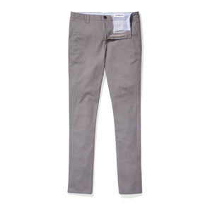Mott (Slim) - Smoked Pearl Supima Stretch Twill Chinos