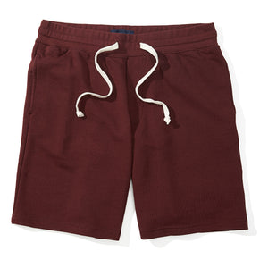 Rhett - Burgundy French Terry Sweat Shorts
