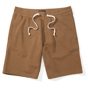 Austin - Camel French Terry Sweat Shorts