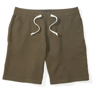 Weston - Olive French Terry Sweat Shorts