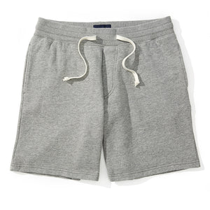 Easton - Heather Gray Fleece Sweat Shorts