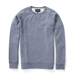 Fleece Sweatshirt - Marled Navy