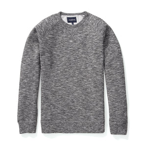 Fleece Sweatshirt - Marled Salt and Pepper