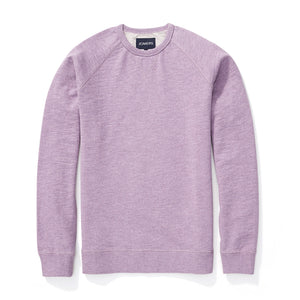 French Terry Sweatshirt - Heather Purple