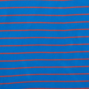 Taylor - Victoria Blue Engine Red Stripe Tee