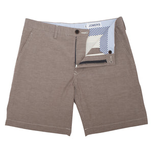 Lily Hill - Taupe Oxford Shorts