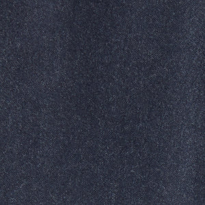 Italian Wool Flannel Dress Pants - Heather Navy
