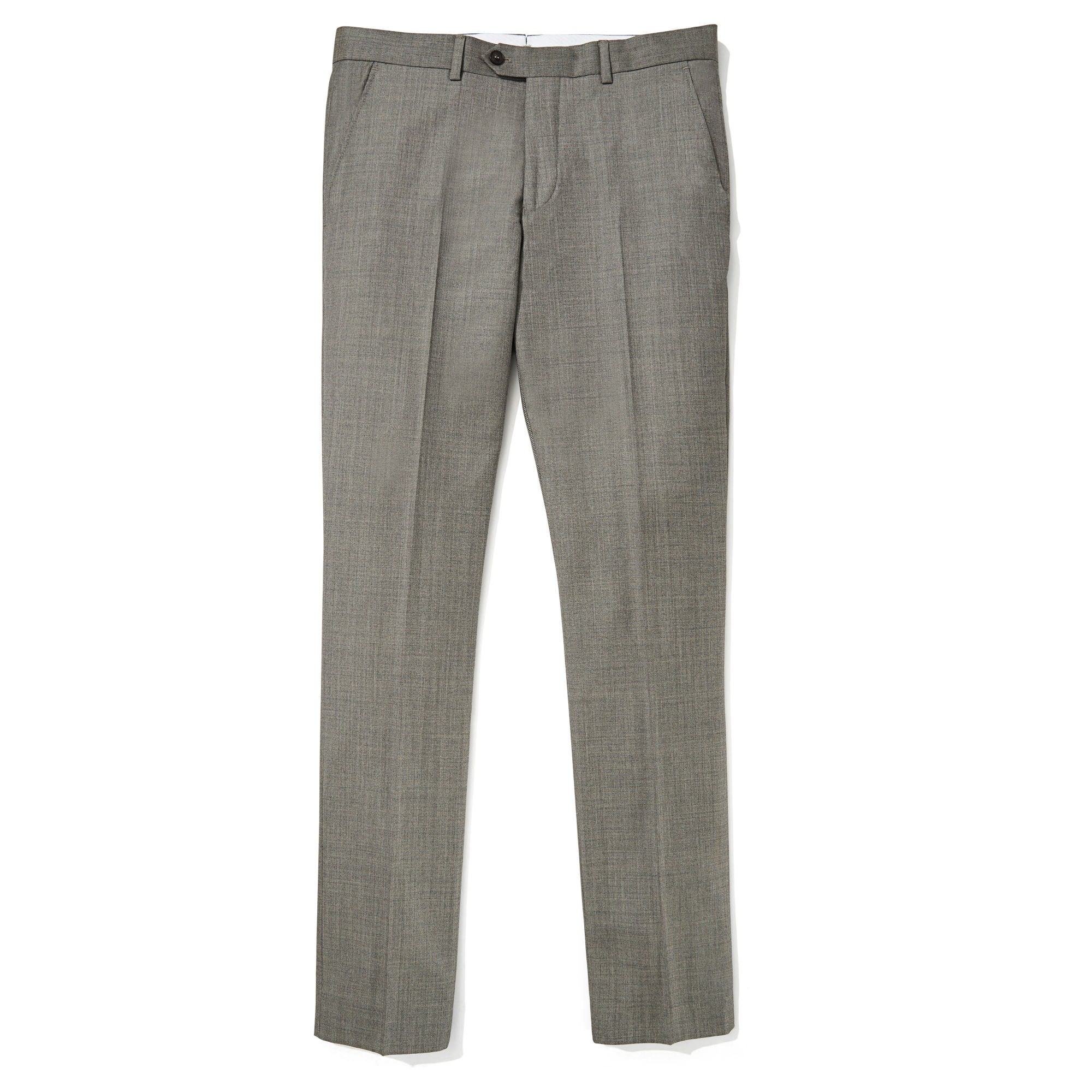 1d16ccad5460 Ross (Slim) - Taupe Sharkskin Vitale Barberis Canonico Dress Pants ...