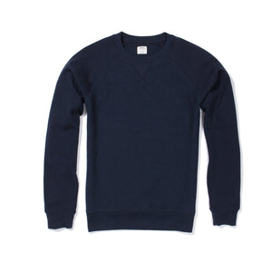 Cooper - Navy Reverse French Terry Sweatshirt