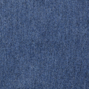 Irvington (Slim) - Heather Blue Italian Worsted Wool