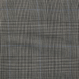 Italian Wool Dress Pants - Gray Plaid
