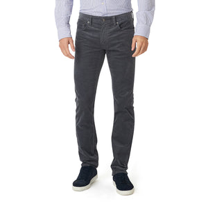 French Corders 5 Pocket Pant - Charcoal