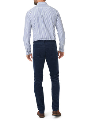 French Corders 5 Pocket Pant - Navy
